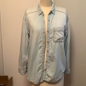 Life in Progess from Anthropologie chambray shirt
